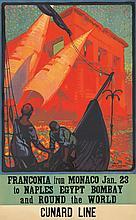 Cunard Line / Franconia. 1932