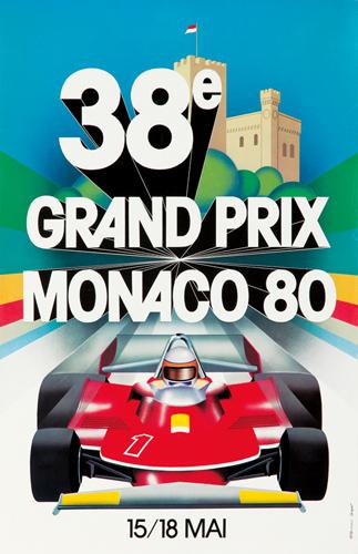 Monaco Grand Prix 1980. 1980