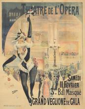 Theatre de L'Opéra / 3e Bal Masque. 1899.