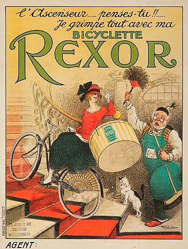 Bicyclete Rexor.