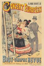 Concert Européen / Biot-Graphe Revue. ca. 1895.