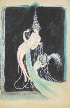 Mistinguett / Diamonds : Painting.