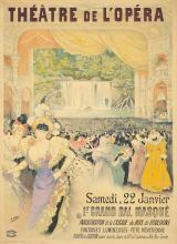 Théâtre de l'Opéra / 1er Grand Bal Masqué. 1898.