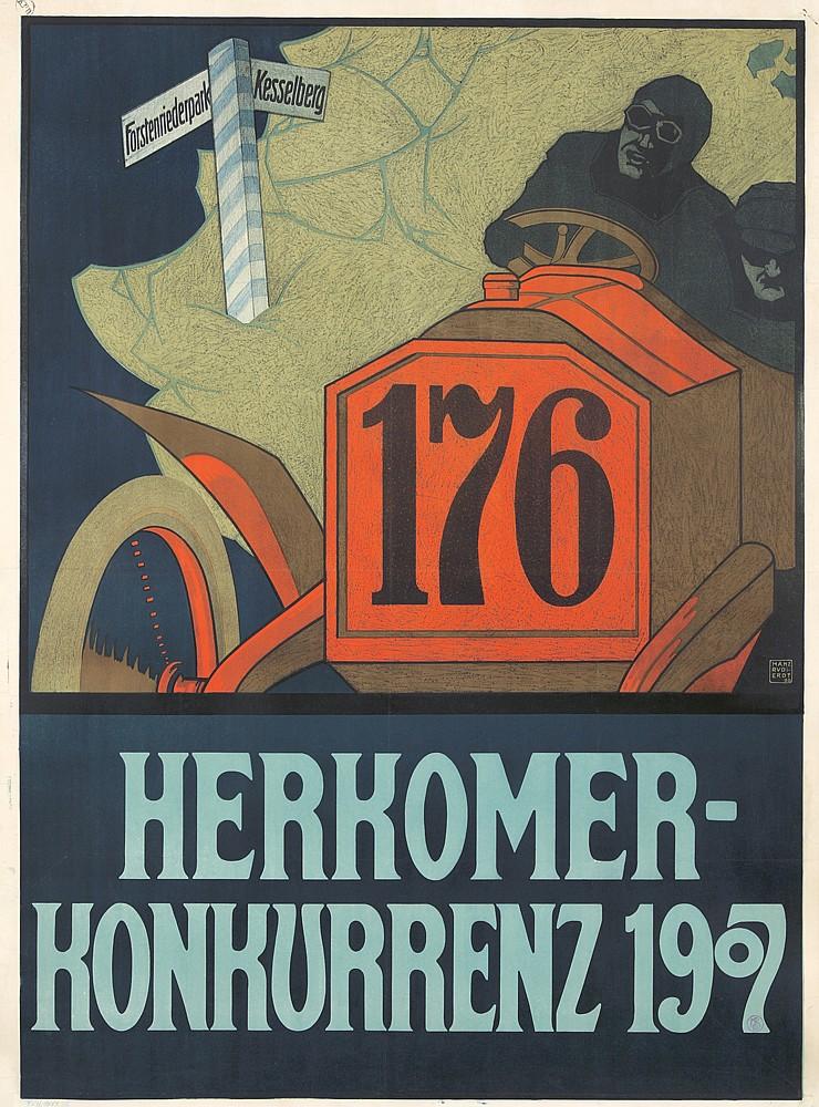 Herkomer-Konkurrenz 1907.