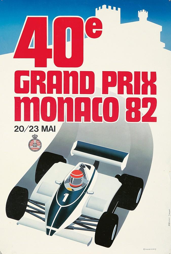 40e Grand Prix / Monaco 82. 1982