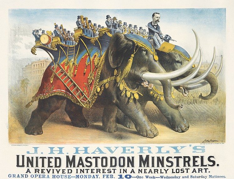 J. H. Haverly's United Mastodon Minstrels. 1878