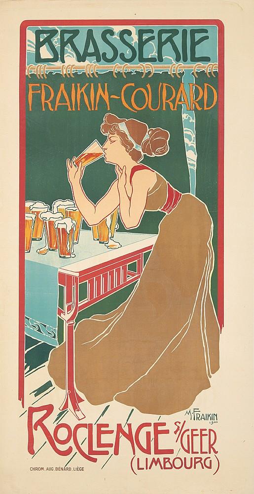 Brasserie Fraikin-Courard. 1900