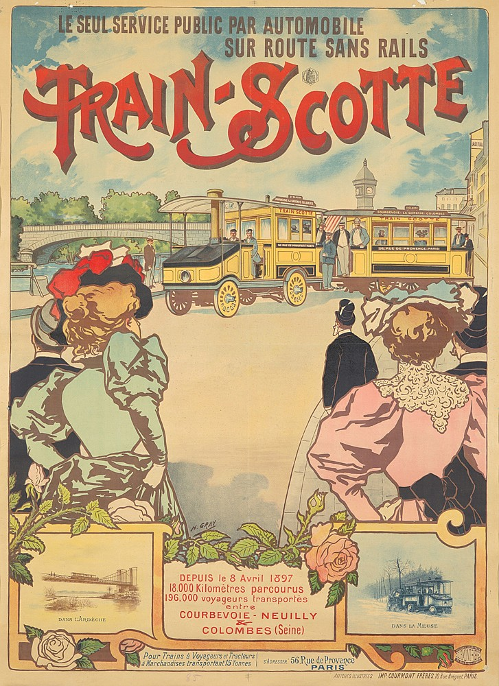 Train-Scotte. ca. 1897