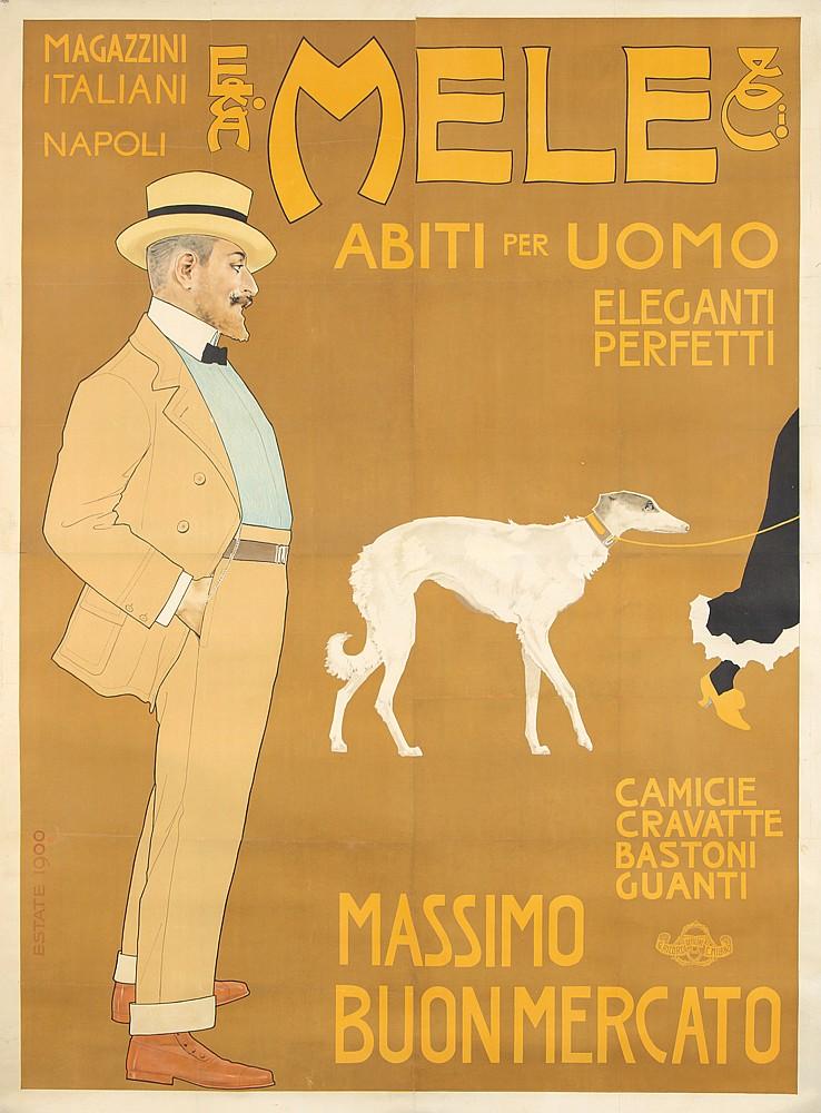 Mele / Abiti per Uomo / Massimo. 1900