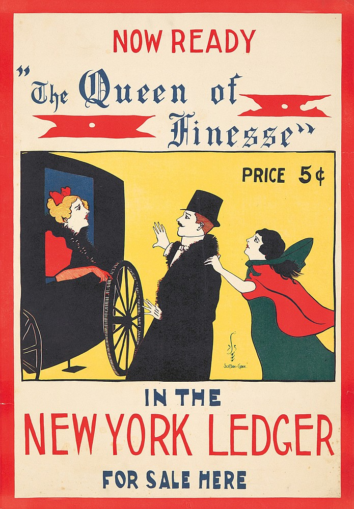 The New York Ledger / Queen of Finesse.  ca. 1895