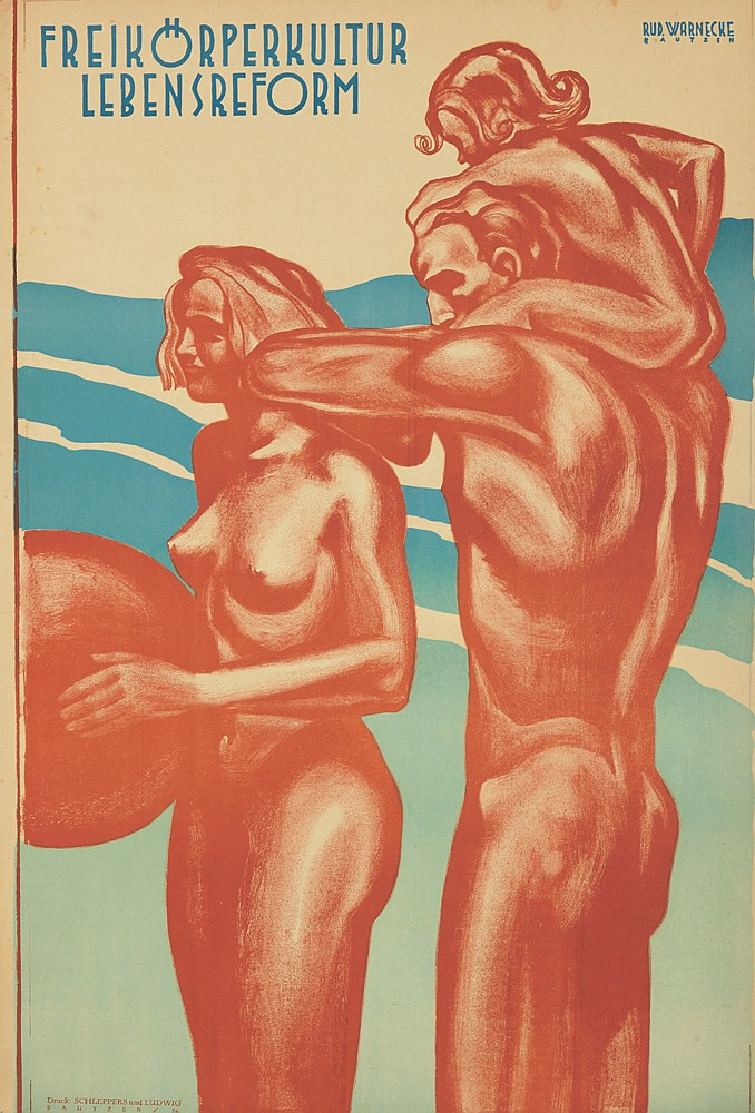 Freikörperkultur Lebensreform. ca. 1930