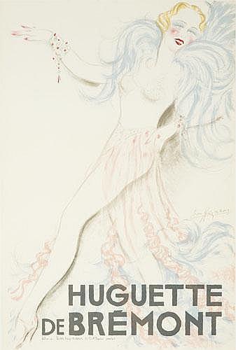 POSTER: LÉON HEYMANN - Huguette de Brémont.