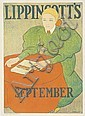 POSTER: Joseph J. Gould, Jr. (1880-1935) - Lippincott's / September., Joseph J Gould, Click for value