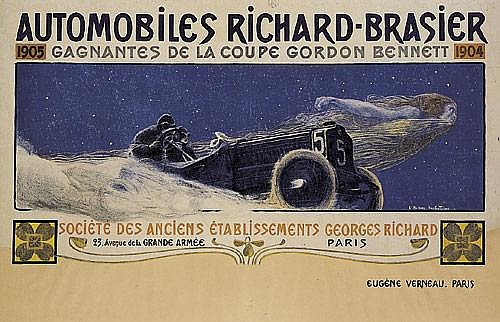 Automobiles Georges Richard. 1905.