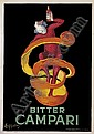 Bitter Campari. 1921., Leonetto Capiello, Click for value