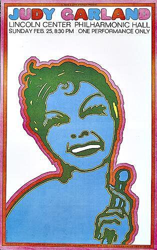 SEYMOUR CHWAST (1931- )Judy Garland/Licoln Center.
