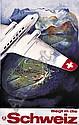 EUGEN HÄFELFINGER (1898-1981)Fliegt in die Schweiz., Eugen Häfelfinger, Click for value