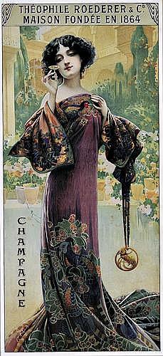GASPAR CAMPS (1874-1931)Champagne Roederer.