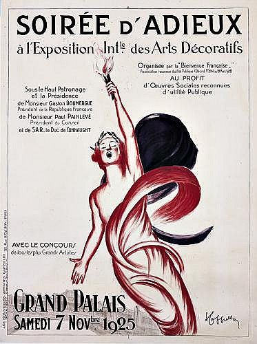 LEONETTO CAPPIELLO (1875-1942)Soirée d'Adieux/Grand Palais.