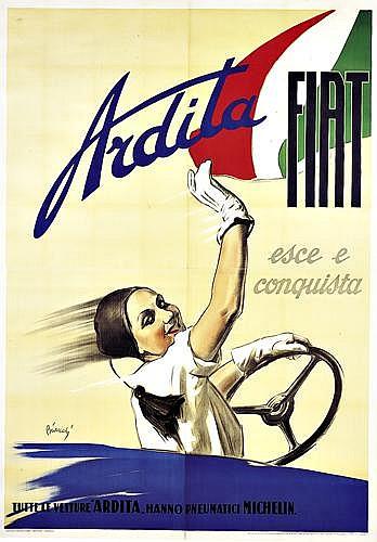 ALBERTO BIANCHI (1882-1969)Fiat/Ardita.