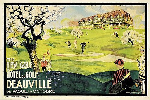 ANDRÉ LAGRANGEHotel du Golf/Deauville.