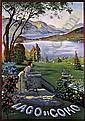 ELIO XIMENES (1855-1926)Lago di Como., Ettore Ximenes, Click for value