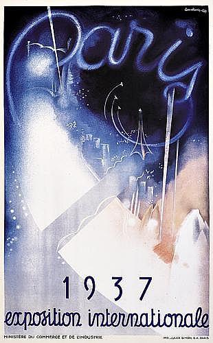 EUGENE BEAUDOIN (1898-?) & MARCEL LODS (1891-1978)Paris 1937/Exposition Internationale.