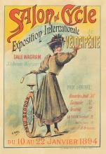 Salon du Cycle. 1894.