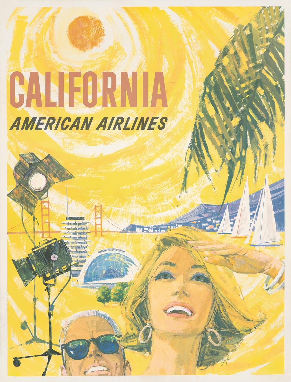 American Airlines / California. 1950.