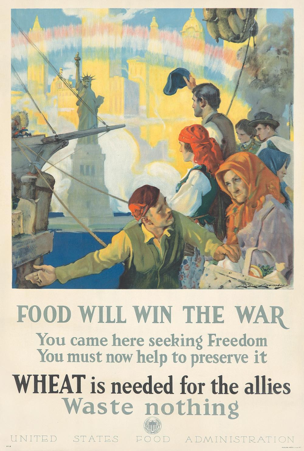 Food Will Win the War. 1917.
