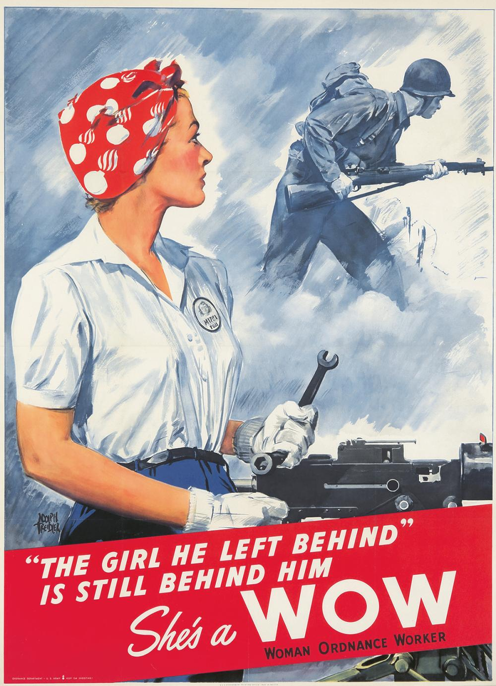 "She's a WOW / ""The Girl He Left Behind."" 1943."