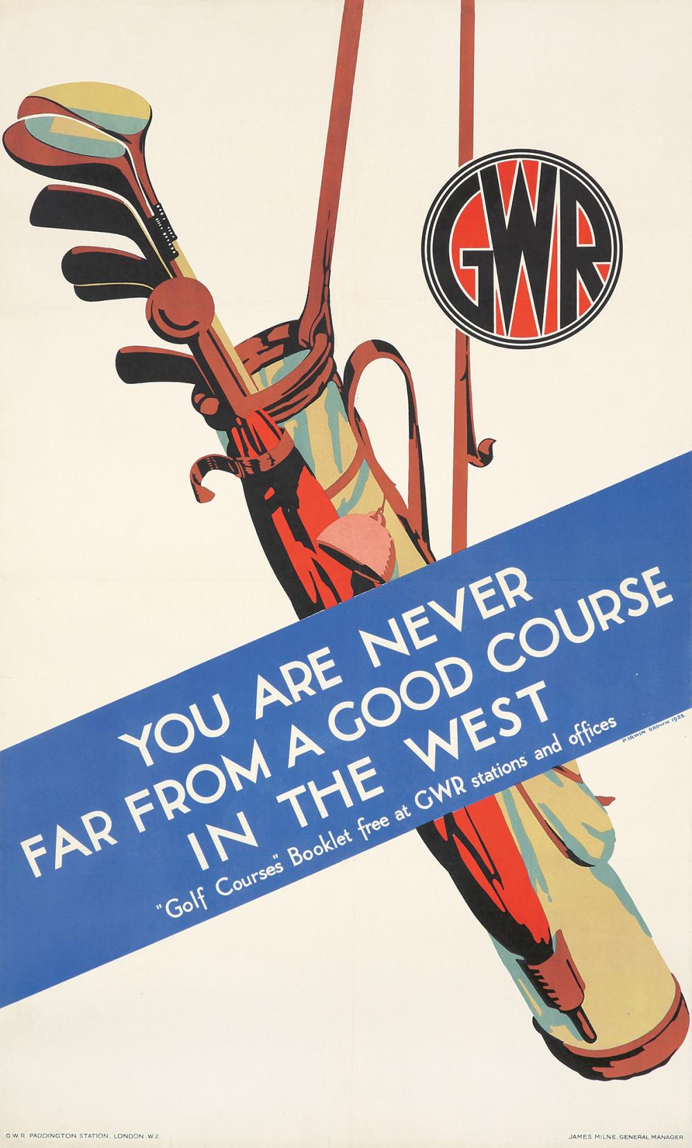 GWR / Golf in the West. 1932.