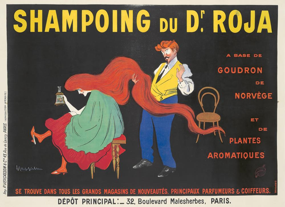 Shampoing du Dr. Roja. 1907.