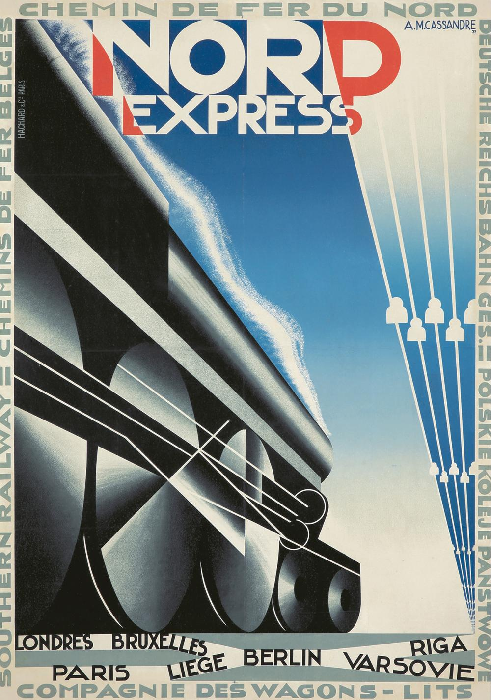 Nord Express. 1927.