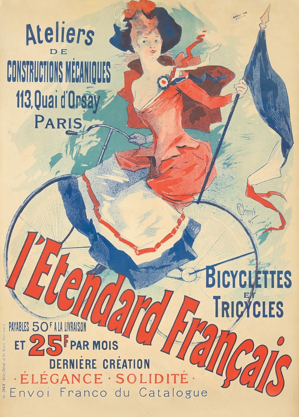 L'Etendard Français. 1891.