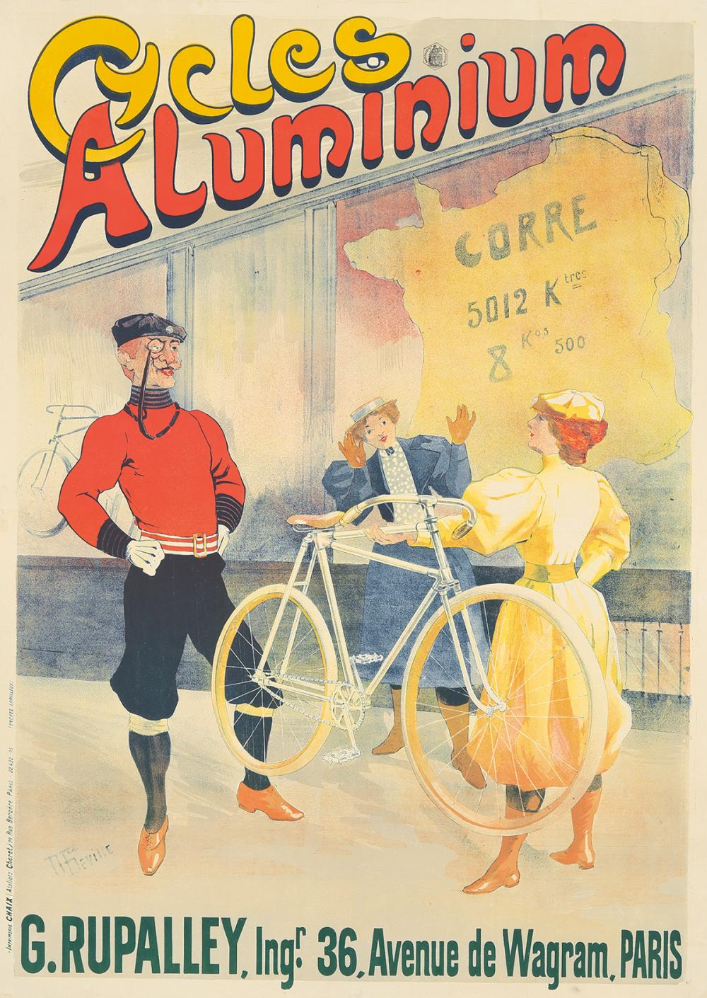 Cycles Aluminium. 1895.