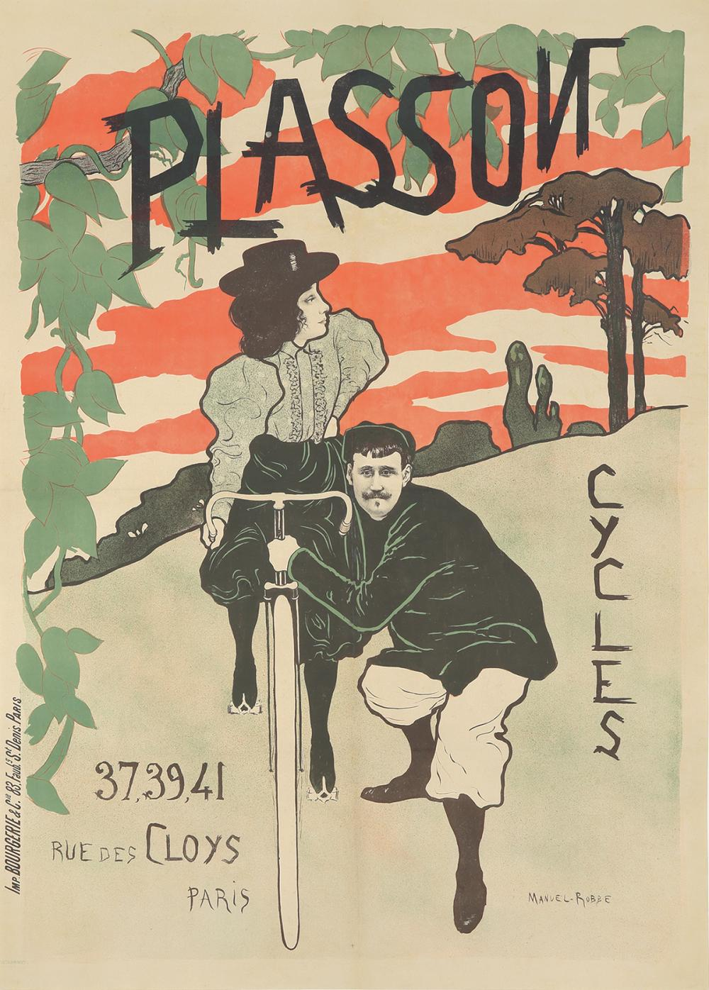 Cycles Plasson. 1897.