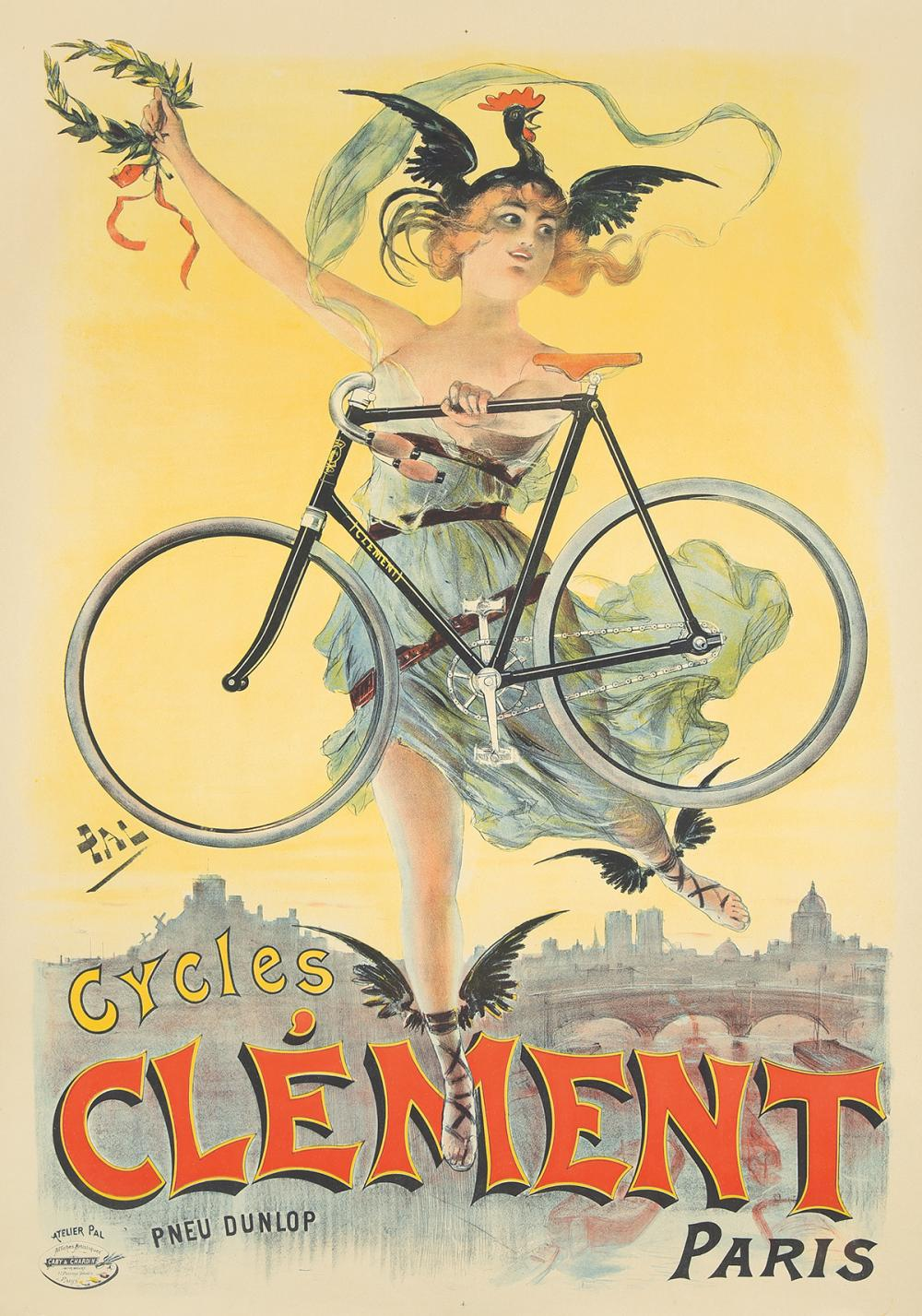 Cycles Clément. 1898.
