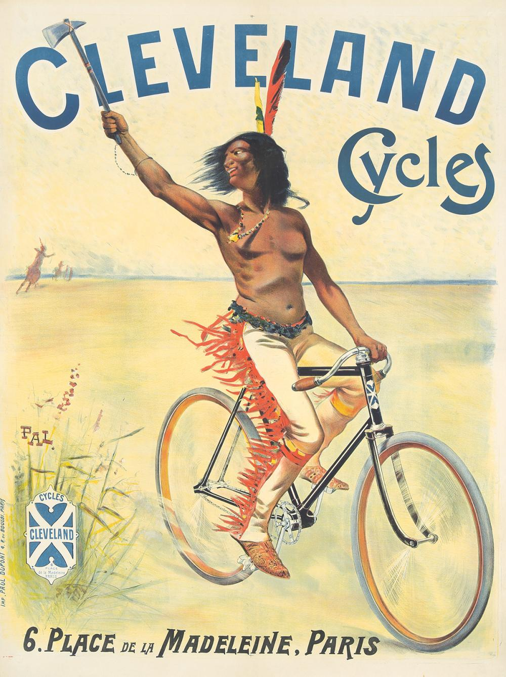 Cleveland Cycles. ca. 1898.