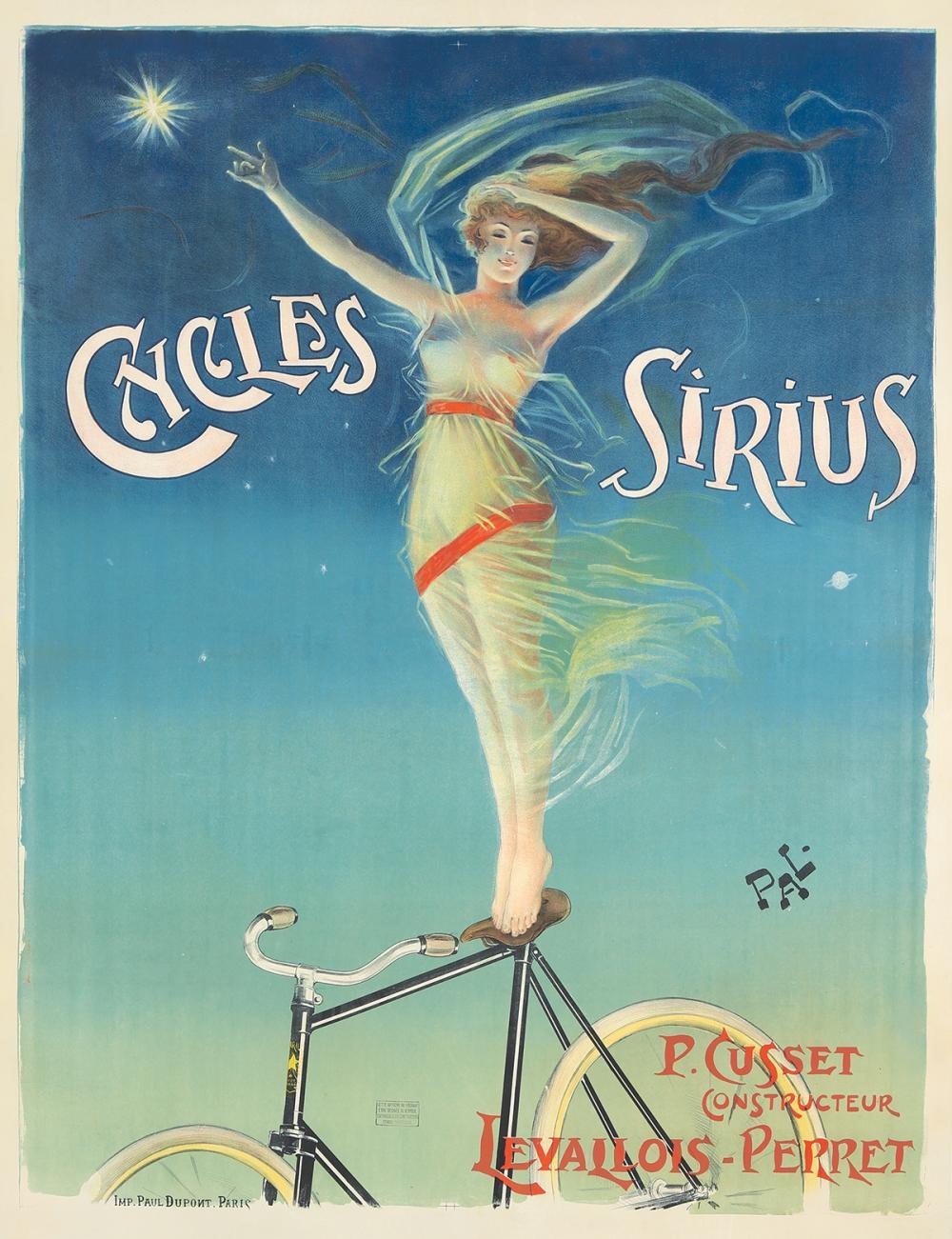Cycles Sirius. ca. 1898.