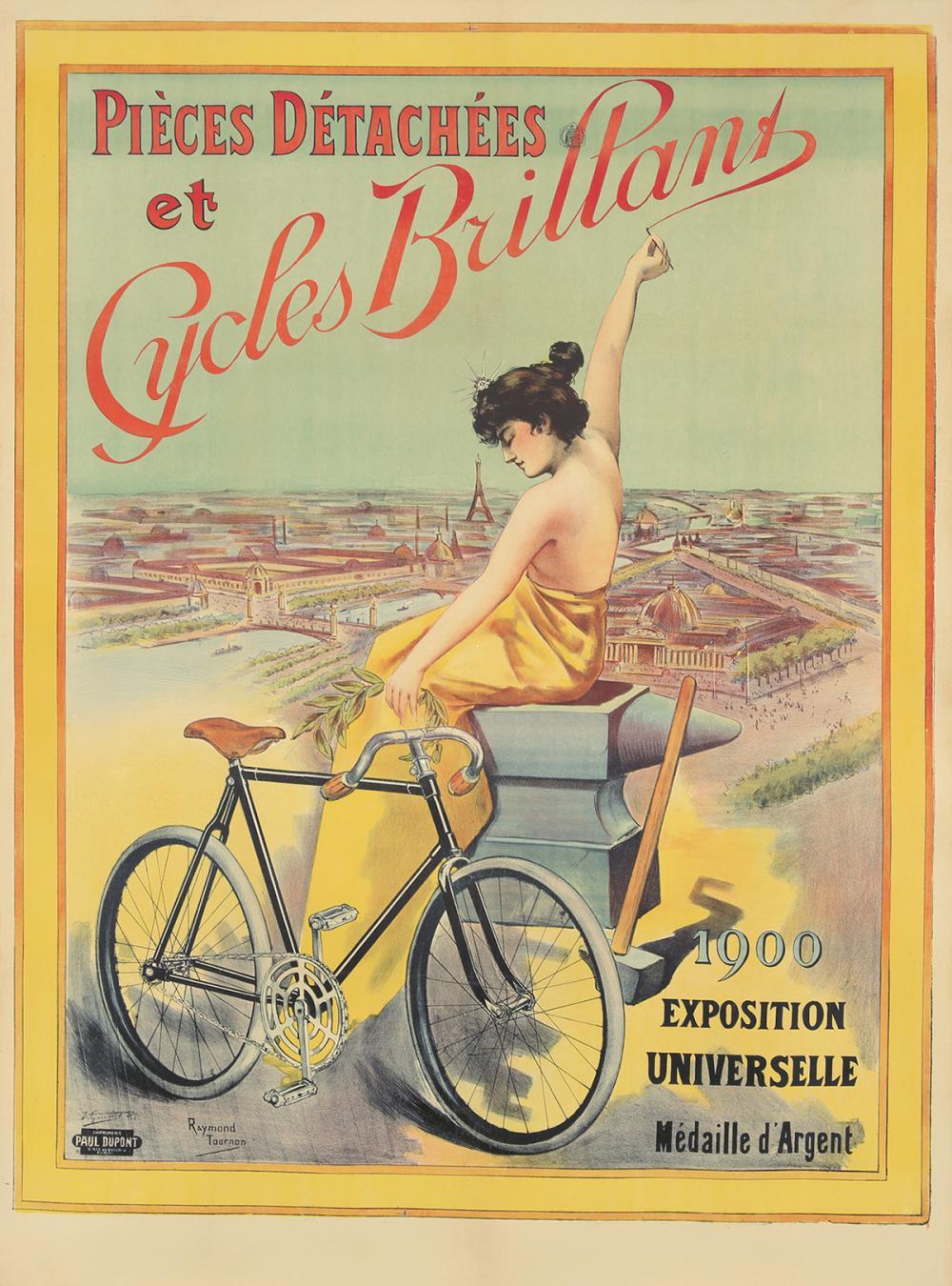 Cycles Brillant. ca. 1901.