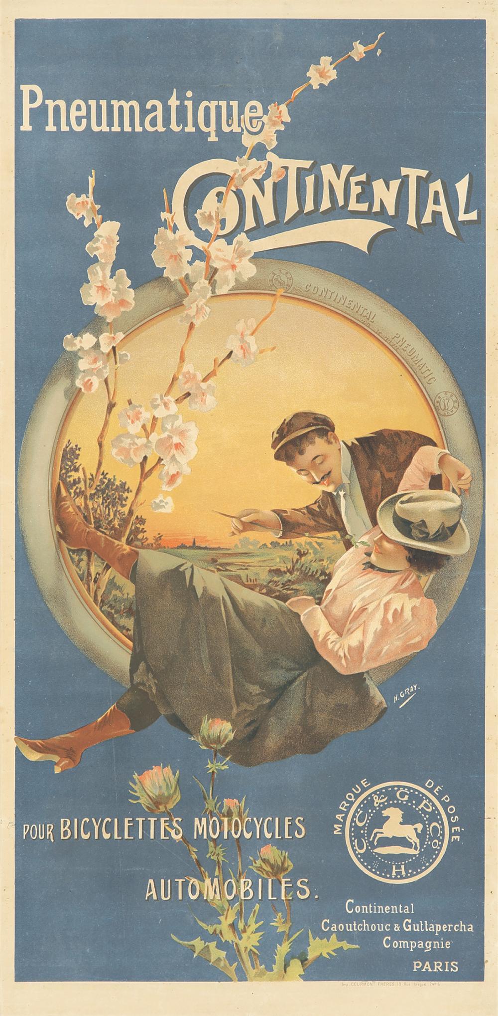 Pneumatique Continental. ca. 1900.