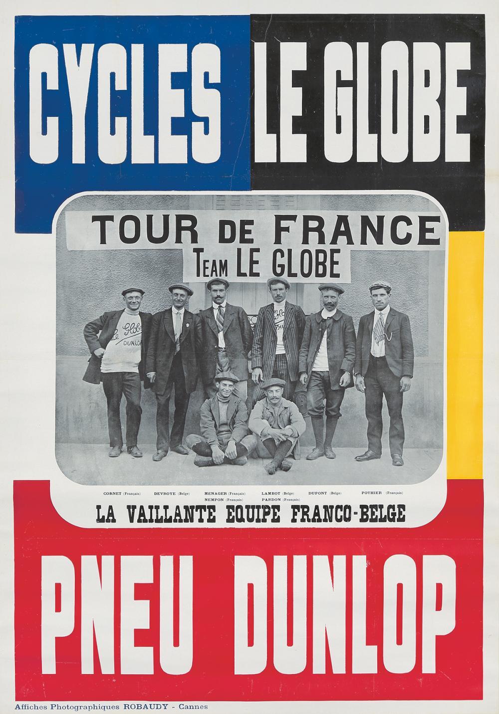 Cycles Le Globe / Pneu Dunlop. 1911.