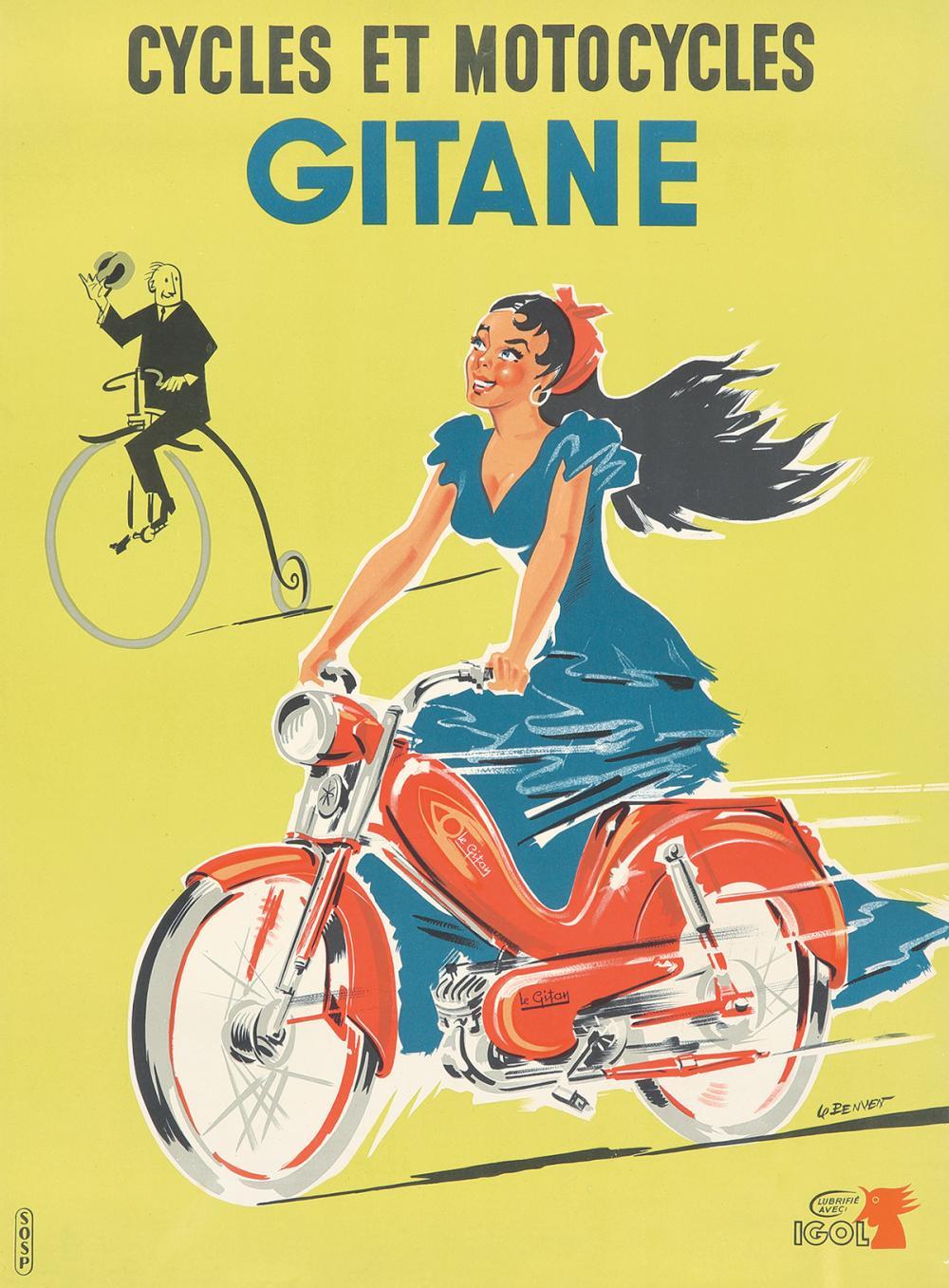 Gitane. ca. 1950s.