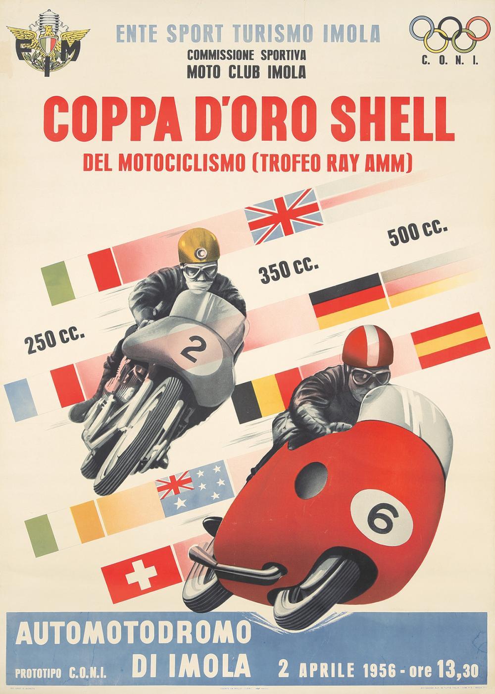 Coppa d'Oro Shell. 1956.