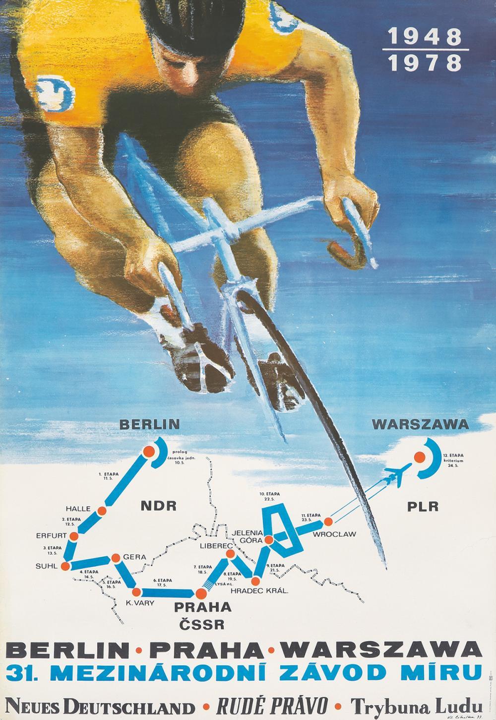 31st Peace Race. 1977.