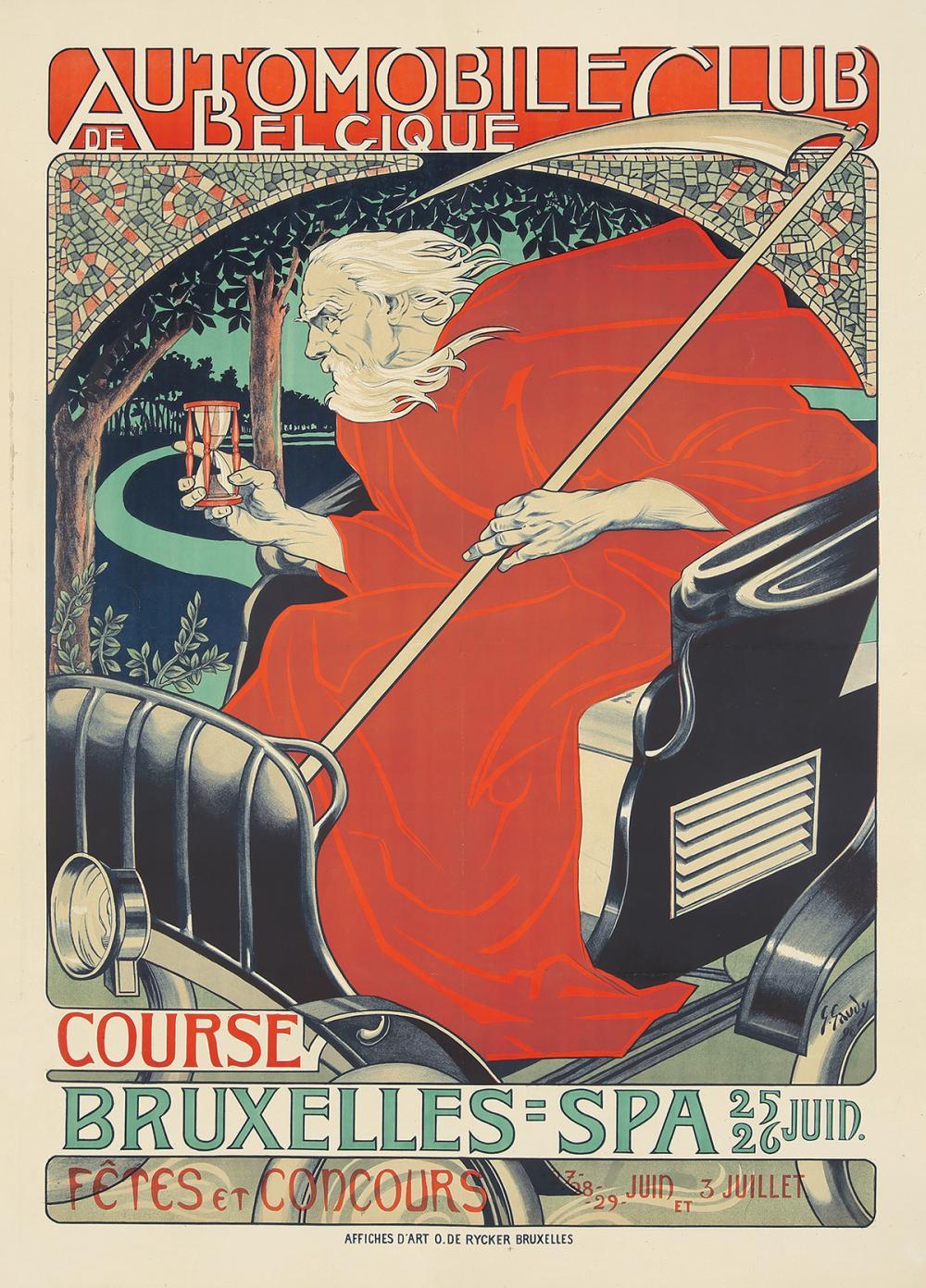 Automobile Club de Belgique. 1898.