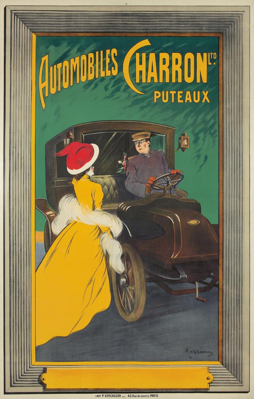 Automobiles Charron Ltd. / Puteaux. ca. 1906.