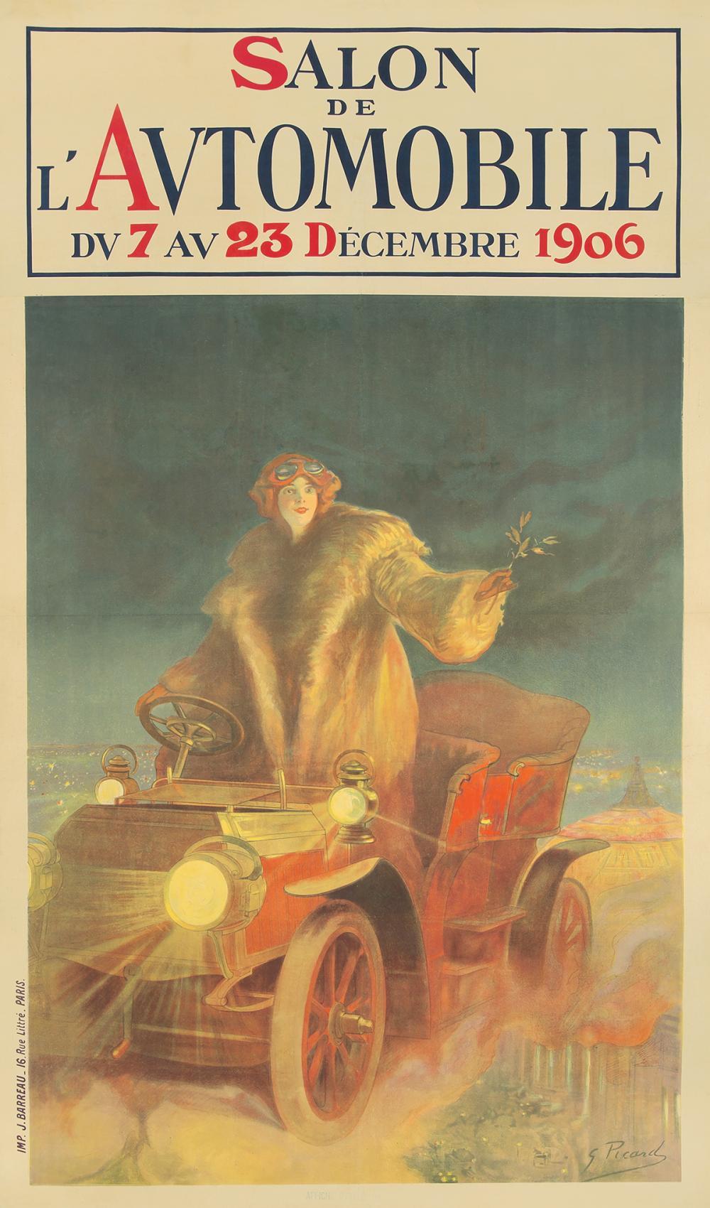 Salon de l'Automobile. 1906.