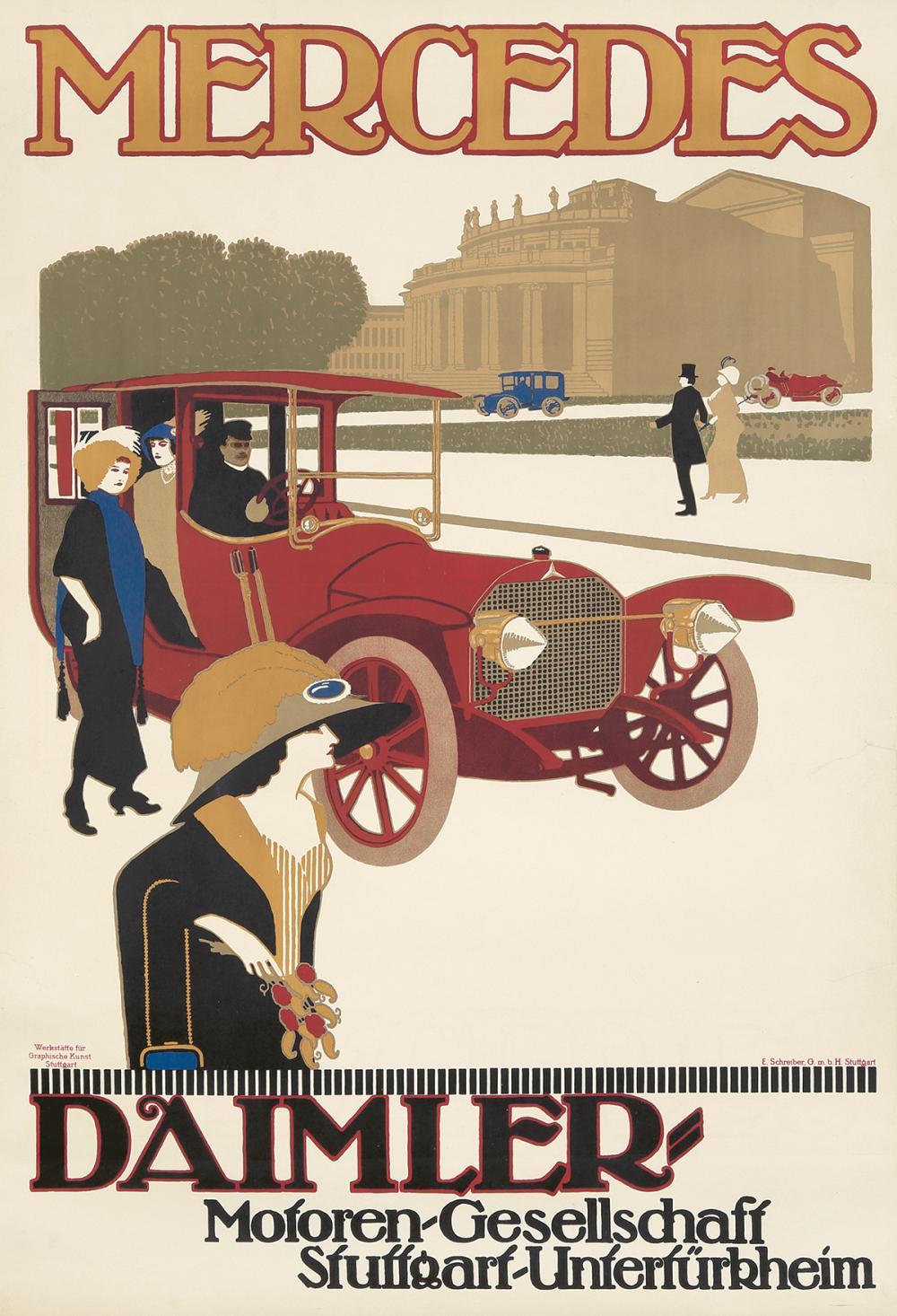 Mercedes. 1912.